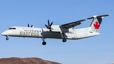 C-GGMN - Bombardier Dash 8-Q402 - Air Canada Express (Jazz Aviation)