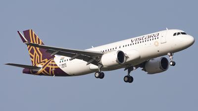 F-WWBE - Airbus A320-251N - Vistara