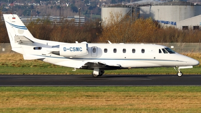 D-CSMC - Cessna 560XL Citation XLS+ - Silver Cloud Air