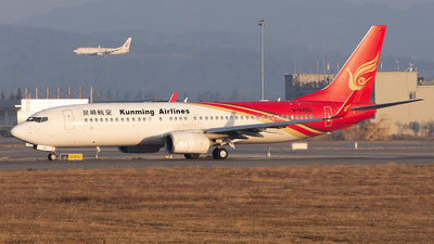 A picture of B6492 - Boeing 7378LY - Kunming Airlines - © liyang