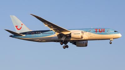 OO-JDL - Boeing 787-8 Dreamliner - TUI