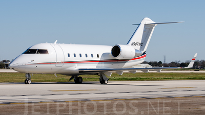 N907WC - Bombardier CL-600-2B16 Challenger 601-3A - Private