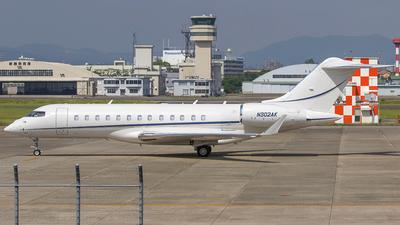 N302AK - Bombardier BD-700-1A10 Global 6000 - Private