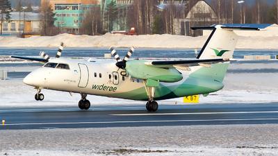 A picture of LNWIO - De Havilland Canada Dash 8100 - Wideroe - © Bora Polater