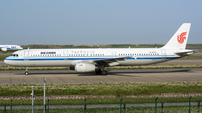 B-6791 - Airbus A321-232 - Air China