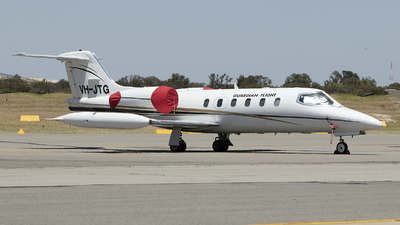 VH-JTG - Bombardier Learjet 35A - Guardian Flight