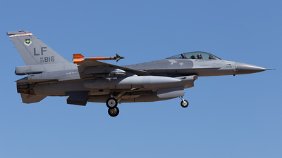 93-0816 - General Dynamics F-16C Fighting Falcon - United States - US Air Force (USAF)