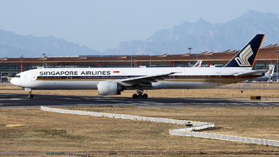 A picture of 9VSWG - Boeing 777312(ER) - Singapore Airlines - © Nanjo_Rippile