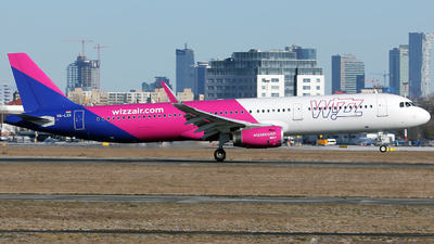 HA-LXR - Airbus A321-231 - Wizz Air