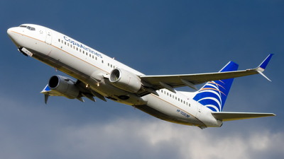 HP-1523CMP - Boeing 737-8V3 - Copa Airlines