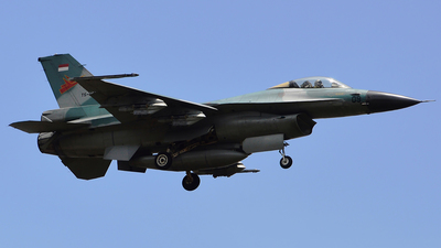 TS-1609 - General Dynamics F-16A Fighting Falcon - Indonesia - Air Force