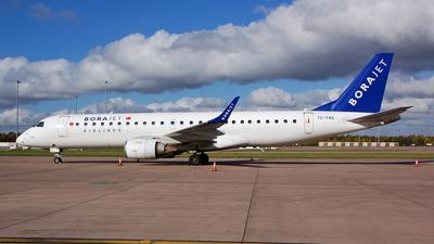 A picture of TCYAG - Embraer E190LR - [19000263] - © Nik French