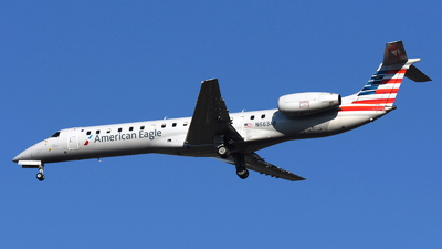 A picture of N663AR - Embraer ERJ145LR - American Airlines - © DJ Reed - OPShots Photo Team