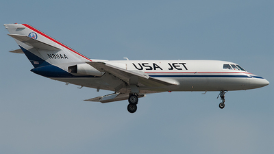 N811AA - Dassault Falcon 20 - USA Jet Airlines