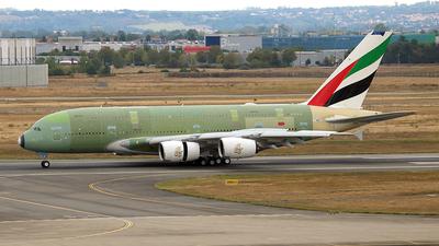 F-WWSC - Airbus A380-842 - Emirates