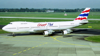 HS-UTJ - Boeing 747-246B - Orient Thai Airlines