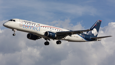 A picture of XAAEH - Embraer E190AR - Aeromexico Connect - © chalymtz