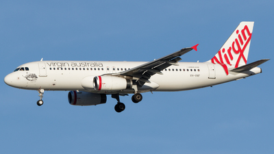 VH-VNF - Airbus A320-232 - Virgin Australia Regional Airlines
