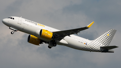 EC-NCS - Airbus A320-271N - Vueling Airlines