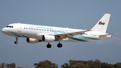 555 - Airbus A320-214(CJ) Prestige - Oman - Royal Air Force