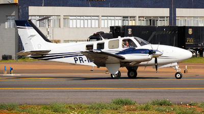 A picture of PRMSD - Beech G58 Baron - [TH2318] - © AlphaJuliet