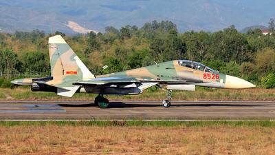 8526 - Sukhoi Su-27UB Flanker C - Vietnam - Air Force