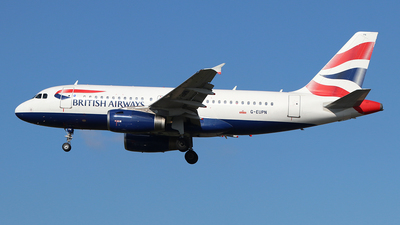 A picture of GEUPN - Airbus A319131 - British Airways - © Ferenc Kolos