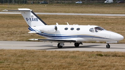 G-XAVB - Cessna 510 Citation Mustang - Private