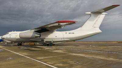 UR-CIG - Ilyushin IL-76TD - Zet Avia