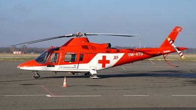 OM-ATD - Agusta A109K2 - Air Transport Europe (ATE)