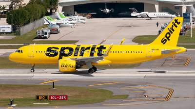A picture of N905NK - Airbus A320271N - Spirit Airlines - © Mark Lawrence