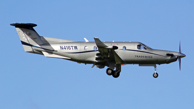 A picture of N416TW - Pilatus PC12/45 - Tradewind Aviation - © toyo_69pr