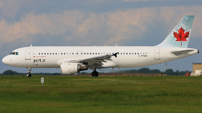 C-FPWD - Airbus A320-211 - Air Canada Jetz
