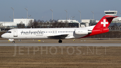 A picture of HBJVI - Fokker 100 - [11325] - © Martin Tietz
