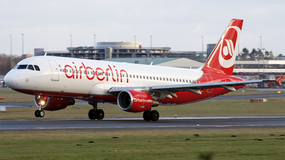 D-ABFT - Airbus A320-214 - Air Berlin