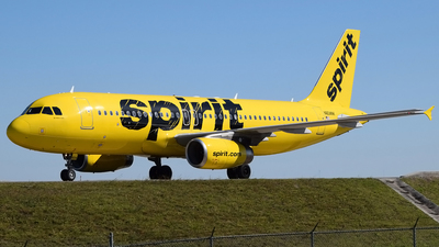 A picture of N604NK - Airbus A320232 - Spirit Airlines - © Doug Marsh