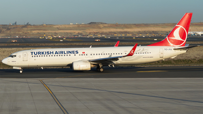 A picture of TCJYJ - Boeing 7379F2(ER) - Turkish Airlines - © Furkan Borakazi