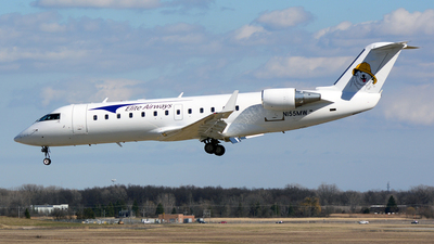 N155MW - Bombardier CL-600-2B19 Challenger 800 - Elite Airways