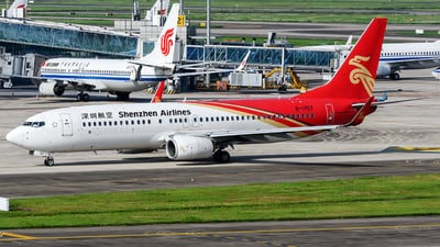 A picture of B1757 - Boeing 73787L - Shenzhen Airlines - © Mr.Huang