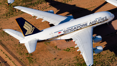 A picture of 9VSKK - Airbus A380841 - Singapore Airlines - © Joel Baverstock