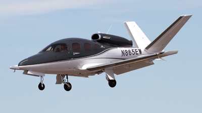 N865EW - Cirrus Vision SF50 G2 - Private