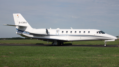 D-CARO - Cessna 680 Citation Sovereign Plus - Aerowest