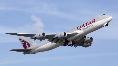 A7-BGB - Boeing 747-87UF - Qatar Airways Cargo