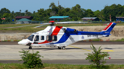 9M-PMB - Agusta-Westland AW-139 - Malaysia - Police