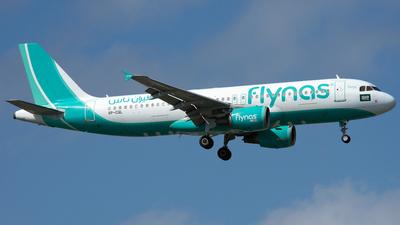 VP-CQL - Airbus A320-214 - Flynas