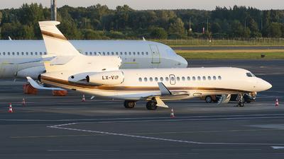 LX-VIP - Dassault Falcon 8X - Global Jet Luxembourg
