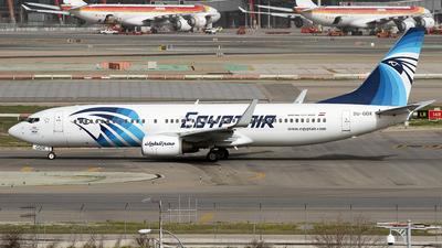 SU-GDX - Boeing 737-866 - EgyptAir