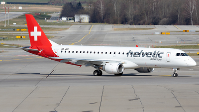 HB-JVS - Embraer 190-100IGW - Helvetic Airways