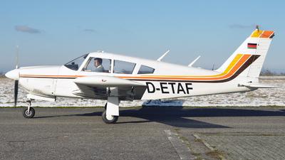 D-ETAF - Piper PA-28R-201 Arrow II - Private