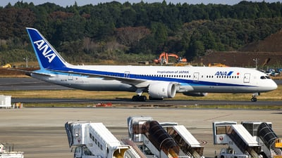 JA871A - Boeing 787-9 Dreamliner - All Nippon Airways (ANA)